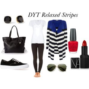Dressing Your Truth Type 4 Relaxed Stripes