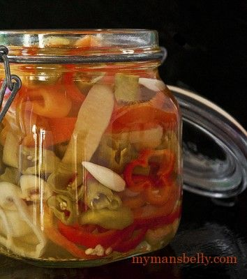 Easy Pickled Banana Peppers Recipe