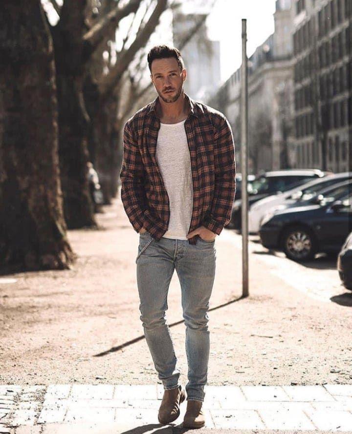 50 Ideas De Moda Con Jeans Para Hombres Aufloria Ropa Casual Hombres Estilo De Ropa Hombre Ropa Casual De Hombre