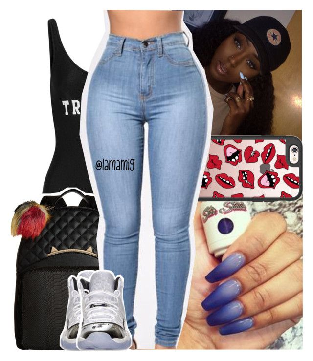 """""""that's when they smile in my face, whole time they wanna take my place"""" by lamamig ❤ liked on Polyvore featuring ADRIANA DEGREAS, Casetify, Betsey Johnson and Retrò"""