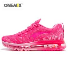 US $46.38 Onemix Running Shoes Women Sport Sneakers For Woman Athletic Trainers Exercise Runner Lady Pink Zapatillas Deportivas Pink Color. Aliexpress product