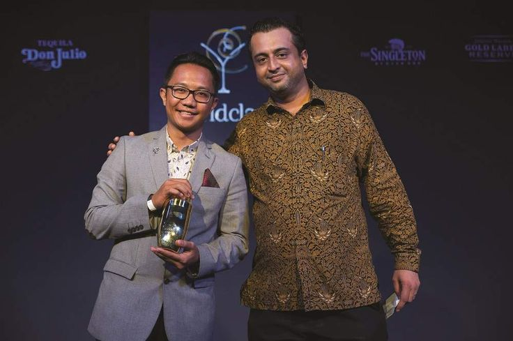 Congratulations Ayip Muhammad Dzuhri from @sofitelbalinusadua for being awarded Indonesian Bartender of The Year 2015. We have you featured in #balibestawards #september on #baliplus