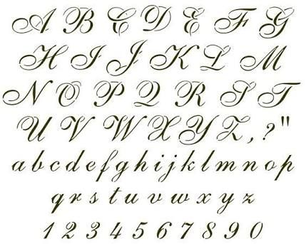 25 Best Ideas About Cursive Fonts On Pinterest Tattoo