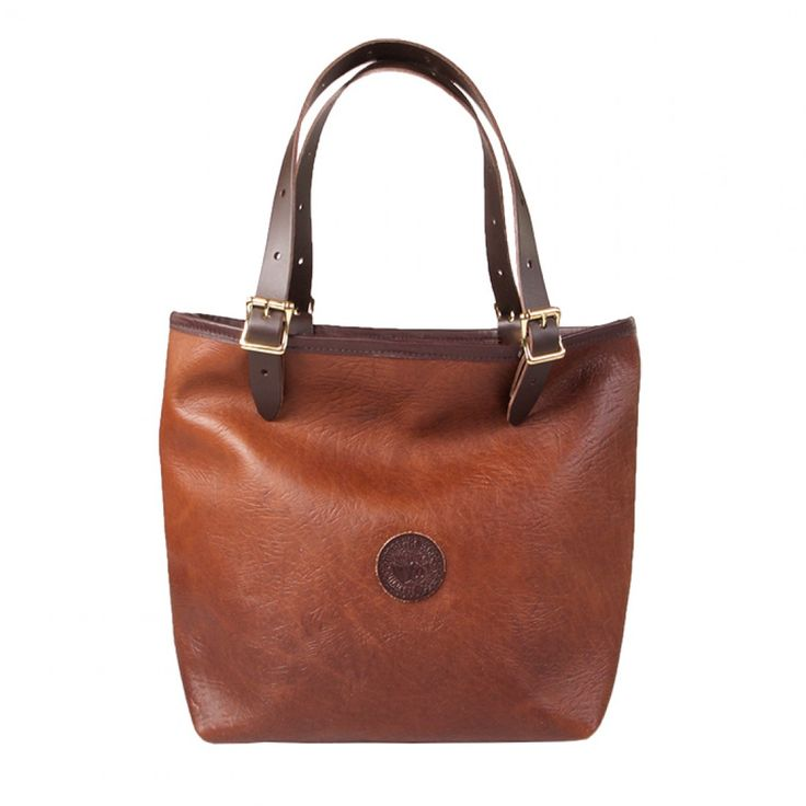 Duluth Pack Medium Bison Leather Market Tote from District Grain