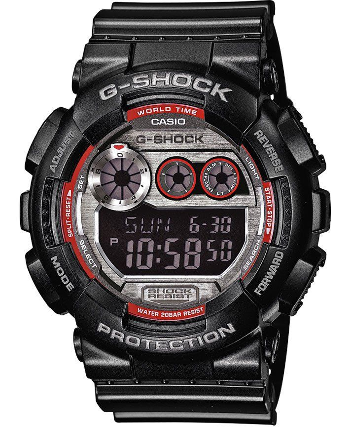 G-Shock Watch Alarm #alarm-yes #bezel-fixed #black-friday-special #bracelet-strap-rubber #brand-g-shock #case-depth-17-4mm #case-material-plastic #case-width-51-2mm #chronograph-yes #classic #comparison #date-yes #day-yes #delivery-timescale-call-us #dial-colour-lcd #gender-mens #gmt-yes #keep-reduced #movement-quartz-battery #new-product-yes #official-stockist-for-g-shock-watches #packaging-g-shock-watch-packaging #style-sports #subcat-g-shock #supplier-model-no-gd-120ts-1er…