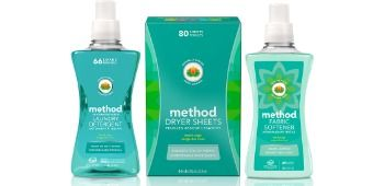 Enter for a chance to win two scent varieties of Method laundry detergent, fabric softener, and dryer sheets!