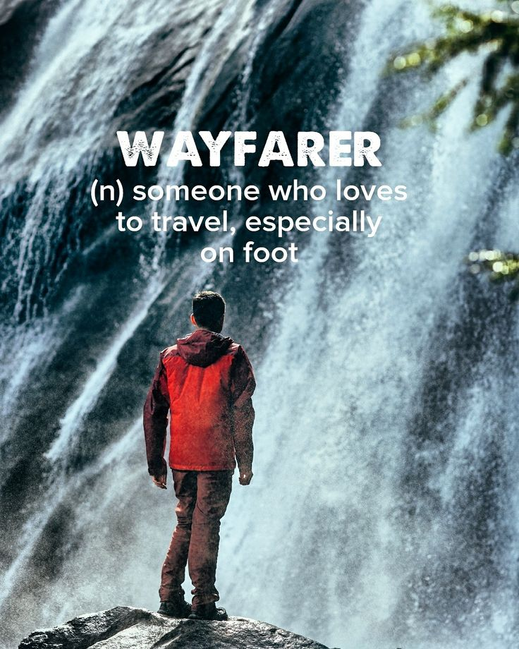 One of my favorite things is exploring the world by walking it.  . . . . #devonstrang #wordoftheday #wotd #word #words #dictionary #language #definition #wayfarer #travel #traveling #wander #wanderlust #wanderer #wanderess #explore #exploring #explorer #landloper #world #walk #walking #hike #hiking