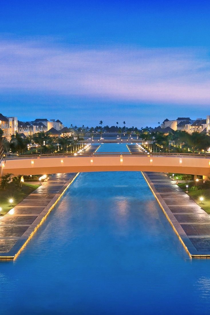 Hard Rock Hotel Punta Cana could be more accurately described as a mini-city. #Jetsetter