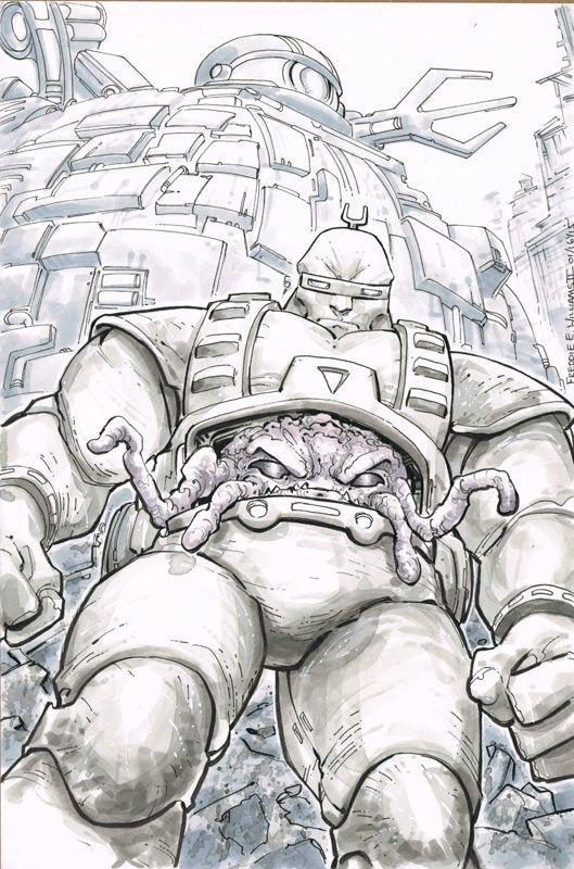 Teenage Mutant Ninja Turtles - Krang by Freddie E. Williams II