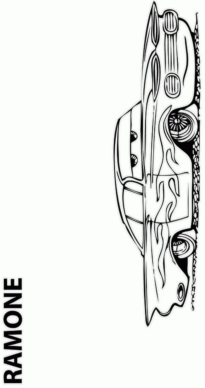 Cars guido coloring pages - Coloring Page Cars Pixar Kids N Fun