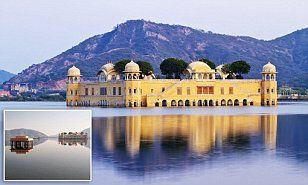 The Jal Mahal is an abandoned palace set in the middle of the Man Sagar Lake in Jaipur, which is said to have been used as a royal summer retreat.