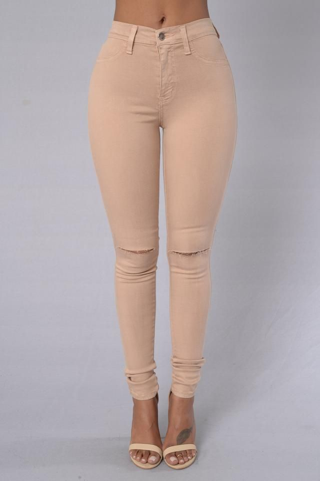 - Available in Baby Blue, Coral and Lilac Grey - High Waisted - Slit Knee - 2 Back Pockets - Great Feel - Amazing Stretch - 52% Tencel 35.7% Cotton 10.5% T400 1.8% Spandex
