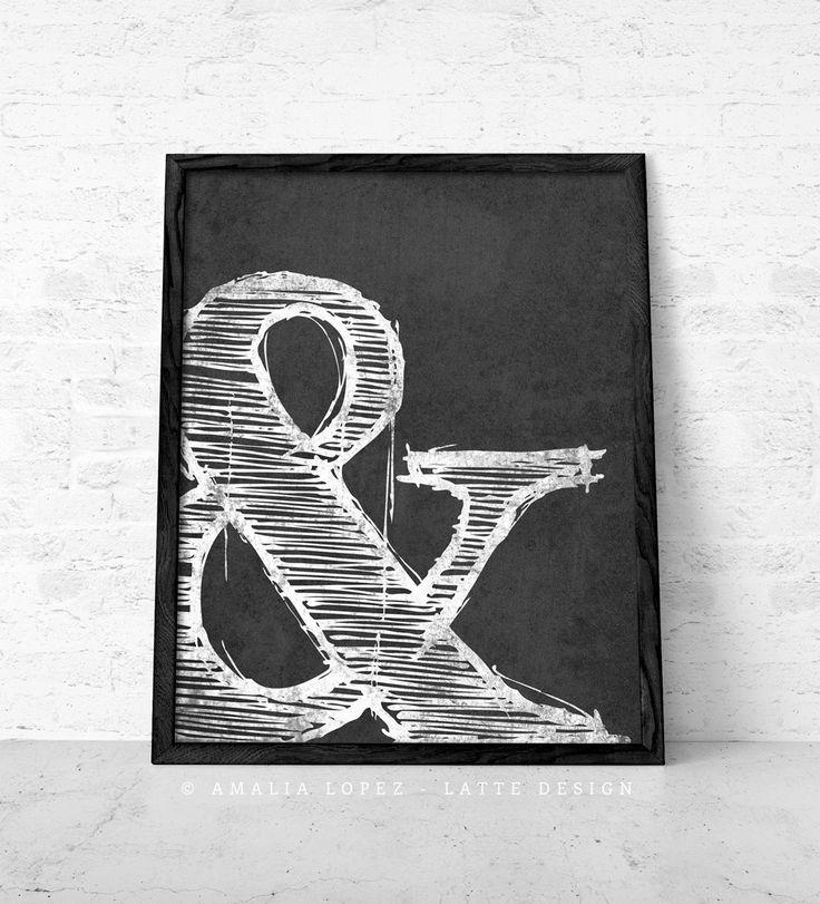 Ampersand Wall Art 79 best black and white art images on pinterest | white art