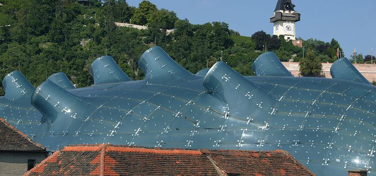 Kunsthaus-modern-art-museum--Graz-Tourismus_Harry-Schiffer © Graz-Tourismus_Harry-Schiffer