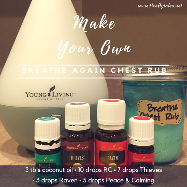 Breathe Again Chest Rub aka Croup Goop w/ Young Living Essential Oils {www.fireflytales.net}