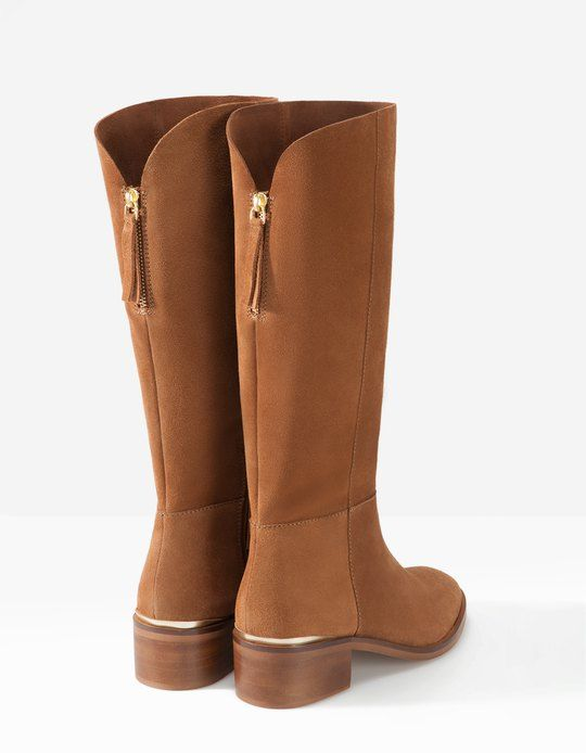 fauve cavalieres femme camel bottes bottes cuir cuir femme lc3FKT1J