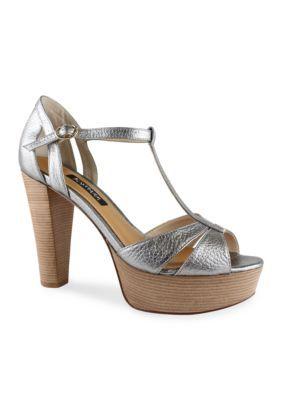 Kay Unger New York Women's Garliste T-Strap Sandal -  - No Size