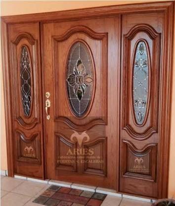 Best 25 puertas de madera rusticas ideas on pinterest for Disenos de puertas de madera