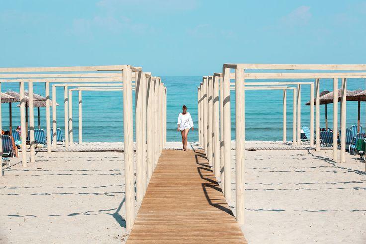 Tervetuloa Golden Beachille ja yhdelle Thassoksen parhaimmista rannoista. #travel #beach #matka #loma #tjäreborg #letsgo