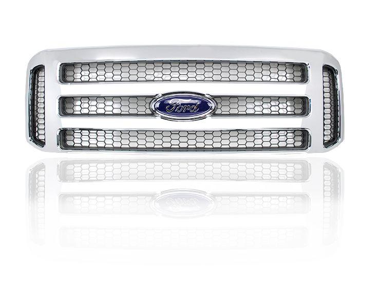 Chrome Ford Super Duty/Excursion Grille Conversion
