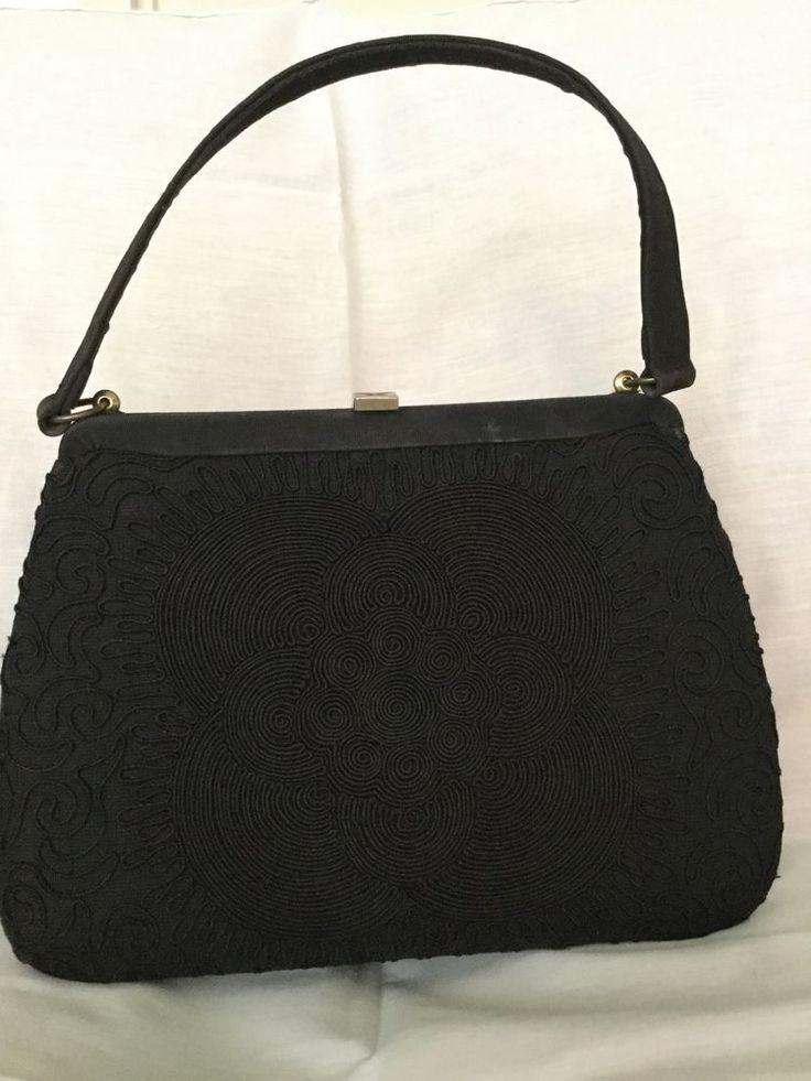 Vintage Silk Handbag  | eBay