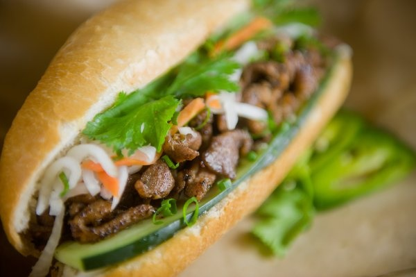 Lotus Cafe - UIC, Chicago - Excellent Banh Mi sandwiches Near museum of Science and industry