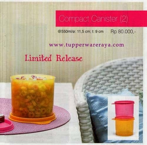 Promo Tupperware April 2014 - Compact Canister