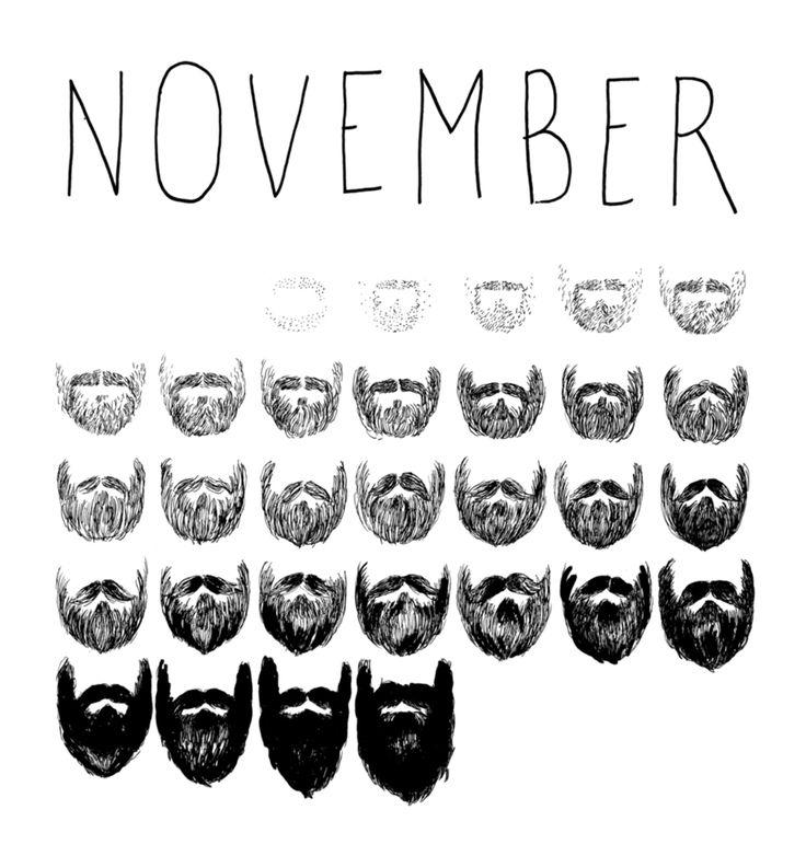 Movember: No Shave November!   http://www.dothefashion.com/movember-shave-november/