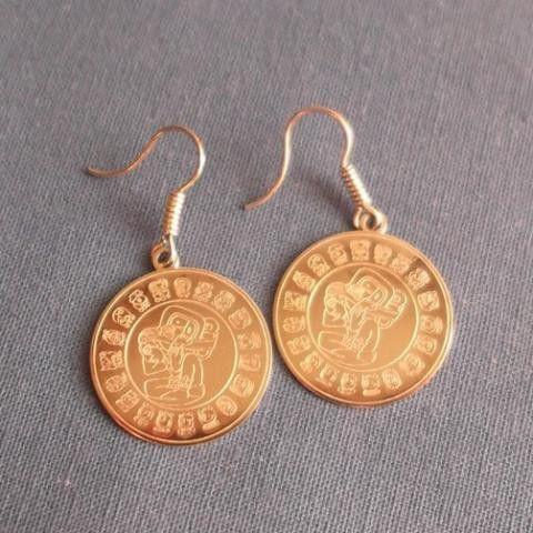 boucles d'oreilles dieu azteque – Bijouterie Vivalatina