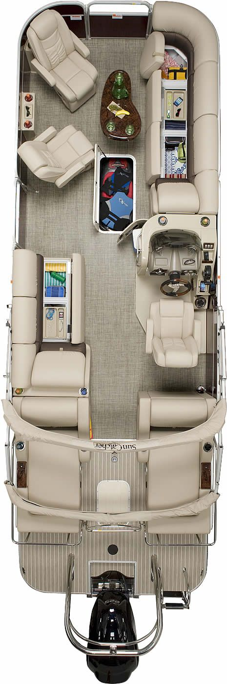 Elite 326 DLX SS | SunCatcher Pontoons by G3 Boats