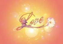 Teddy Bear Love Wallpaper
