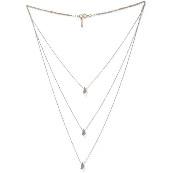 ISABEL MARANT Triple layer teardrop necklace ($135) ❤ liked on Polyvore featuring jewelry, necklaces, accessories, jewels, gold, chain jewelry, isabel marant jewelry, teardrop necklace, teardrop jewelry and tear drop jewelry