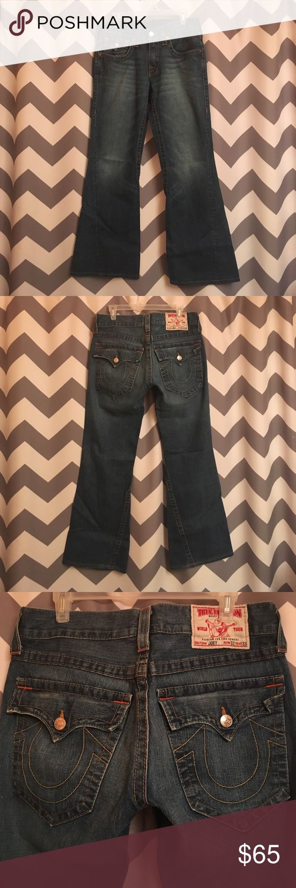 True Religion Joey jeans Men's 32 waist 31 length True Religion Joey jeans Men's 32 waist 31 length True Religion Jeans Bootcut