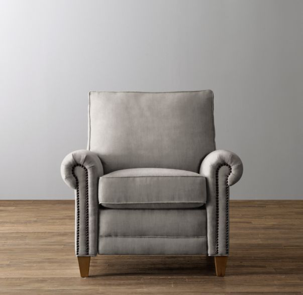 Carleton Velvet Recliner · Glider RockersRestoration Hardware ... & 68 best Chairs images on Pinterest | Accent chairs Dining chairs ... islam-shia.org