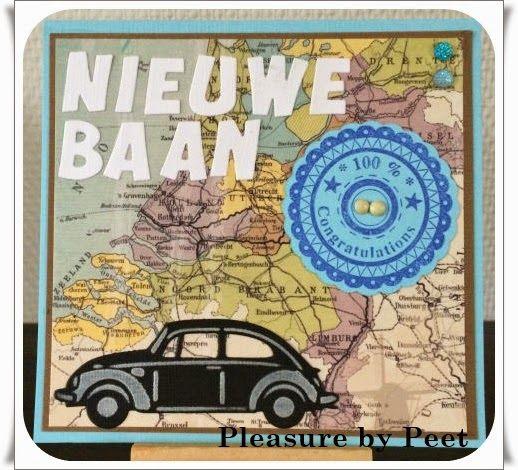 Pleasure by Peet: Nieuwe baan