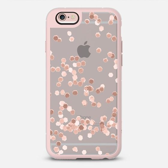 LIMITED EDITION ROSE GOLD FAUX GLITTER by Monika Strigel ...