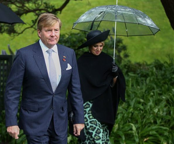 King Willem-Alexander and Queen Maxima of the Netherlands started the official visit to New Zealand. The Dutch royal couple arrived on Friday and had no public engagements during the weekend. They welcomed by Governor-General Dame Patsy Reddy at a ceremony at Government House on November 7, 2016 in Wellington, New Zealand. The Dutch King and Queen are on a three day visit to New Zealand.