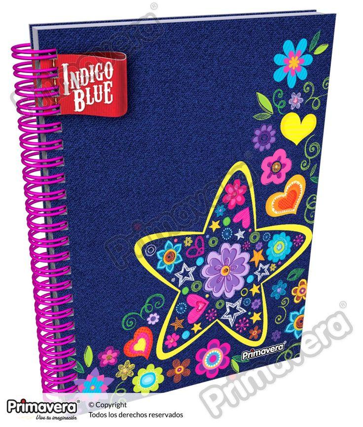 Cuaderno Argollado 5 y 7 Materias Indigo Blue http://escolar.papelesprimavera.com/product/cuaderno-argollado-5-y-7-materias-indigo-blue-primavera-5/