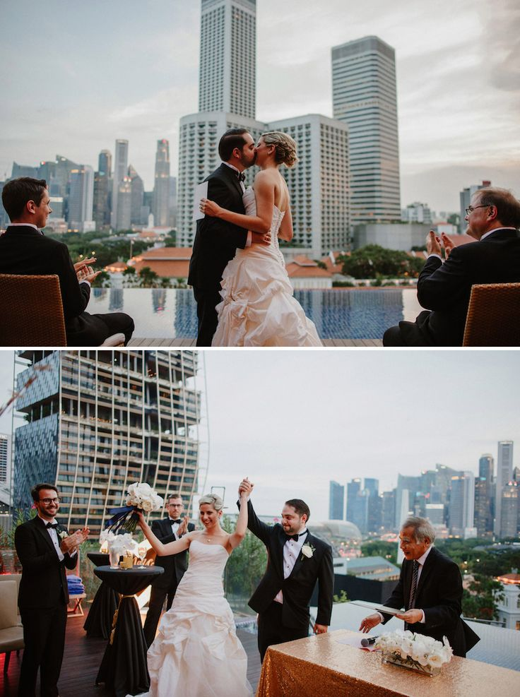 wedding reception photo booth singapore%0A Naumi Hotel has a rooftop infinity pool which creates a great backdrop for  an intimate solemnisation
