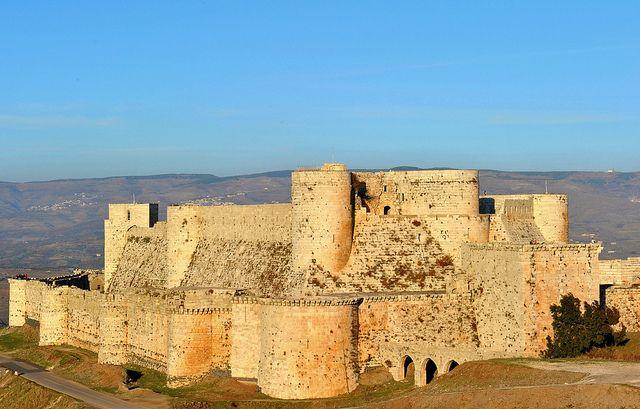 krak dei Cavalieri, Síria, Fortaleza dos Cavaleiros. (Qala'at Al-Hosn) pelo tango-, via Flickr