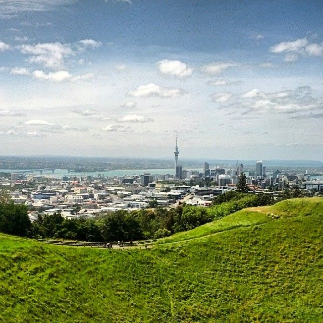 View from Mt Eden summit #Auckland #NewZealand #Aotearoa #NZ