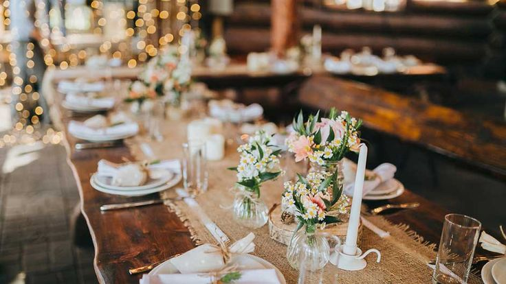 Find out the most common mistakes brides make when planning a rustic wedding on SHEfinds.com.