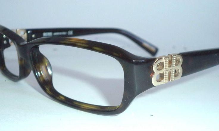 New Hugo Boss 0090/u UNISEX horn rim Rec gold logo eyelgasses sunglasses 53-14 | eBay