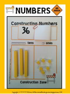 A Differentiated Kindergarten: Constructing Numbers!