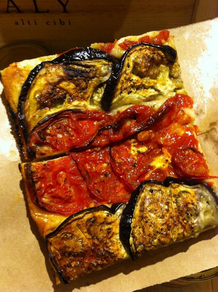 Pizza at Eatly