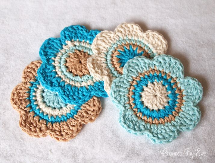 Free Crochet Patterns For Cotton Thread : 1000+ images about coasters on Pinterest Ravelry ...