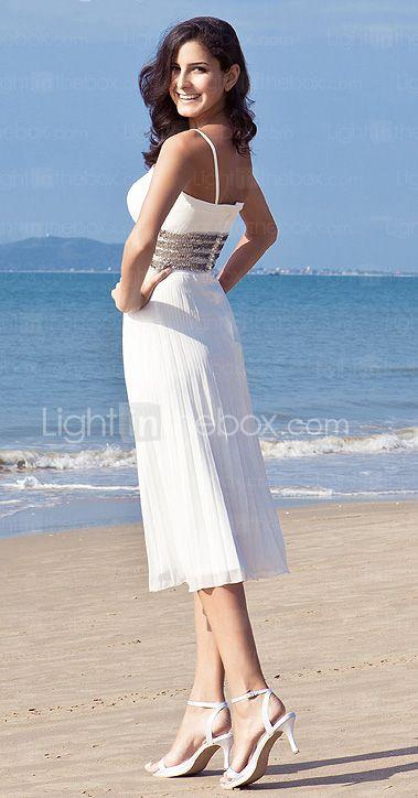 BERYLL - Kleid für die Braut aus Chiffon - GBP £ 58.39