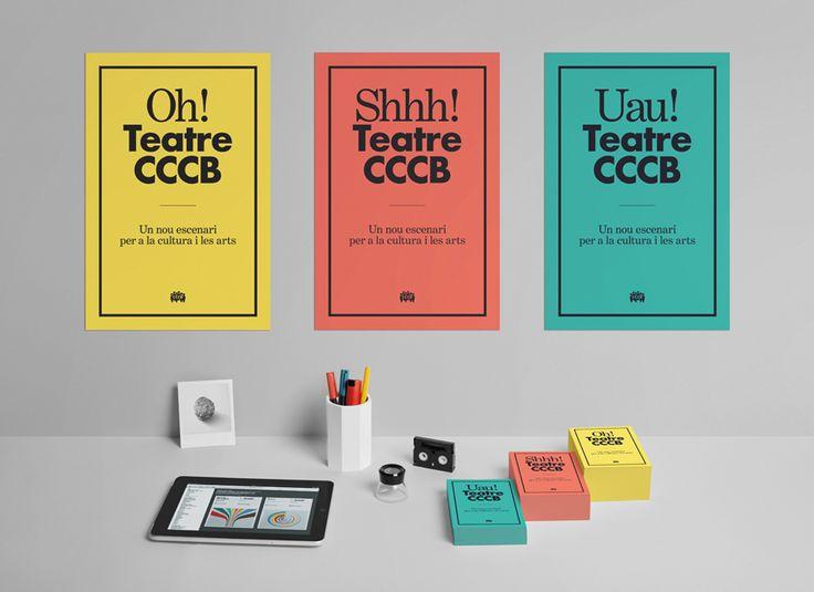 hey studio: Design Inspiration, Identity Branding, Picture-Black Posters, Corporate Identity, Posters Design, Graphics Design, Selection Work, Hey Studios, Teatr Cccb
