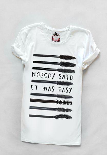 T-shirt with morning slogan from Yeah Bunny by DaWanda.com