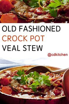 Made with diced tomatoes, beef broth, sage, non-stick cooking spray, all-purpose flour, salt, black pepper, veal shoulder roast, carrots, onion, garlic, ground sage, dried oregano | CDKitchen.com